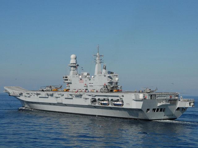 La portaerei cavour invade la slovenia per qualche ora - Cavour portaerei ...