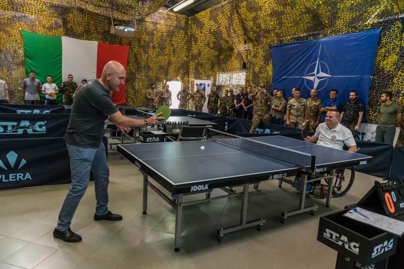 Kfor protagonista il tennis tavolo 5 nazioni e atleti kosovari e albanesi al tavolo di gioco - Forum tennis tavolo toscano ...