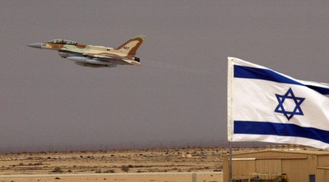 israeli-jet-taking-off-from-airbase