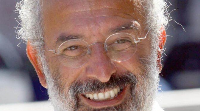 ansa - lerner - Gad Lerner durante la presentazione della nuova stagione della trasmissione ''L'Infedele'', Milano 31 agosto 2012. ANSA/STEFANO PORTA