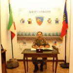 Capo di SME in visita all'Ariete