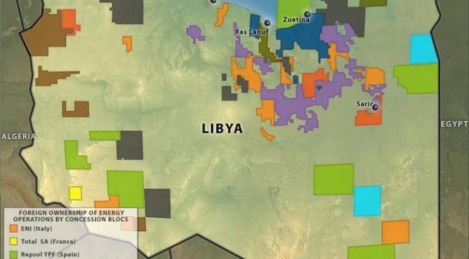 libya-energy-map