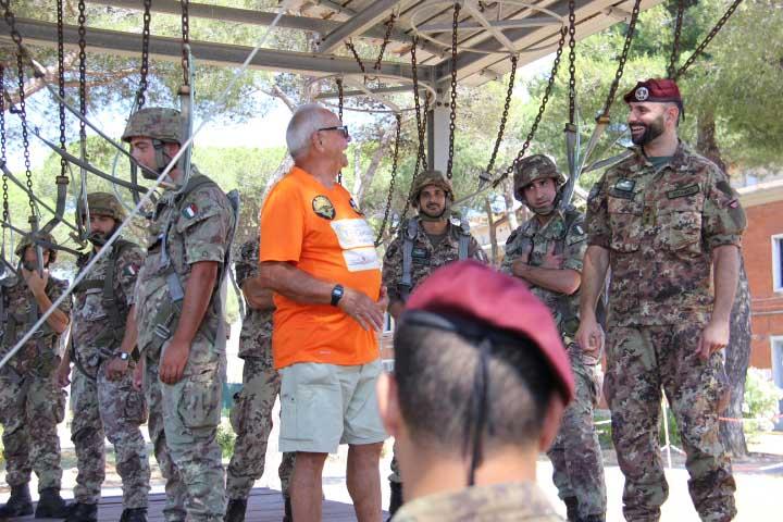Transita Paracadutista A 187mo Piedi Belliere Al L'alpino H6qxEOwH