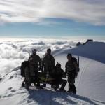 Punta Zumstein 4563 m