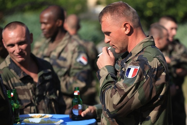 French Foreign Legion soldiers from the