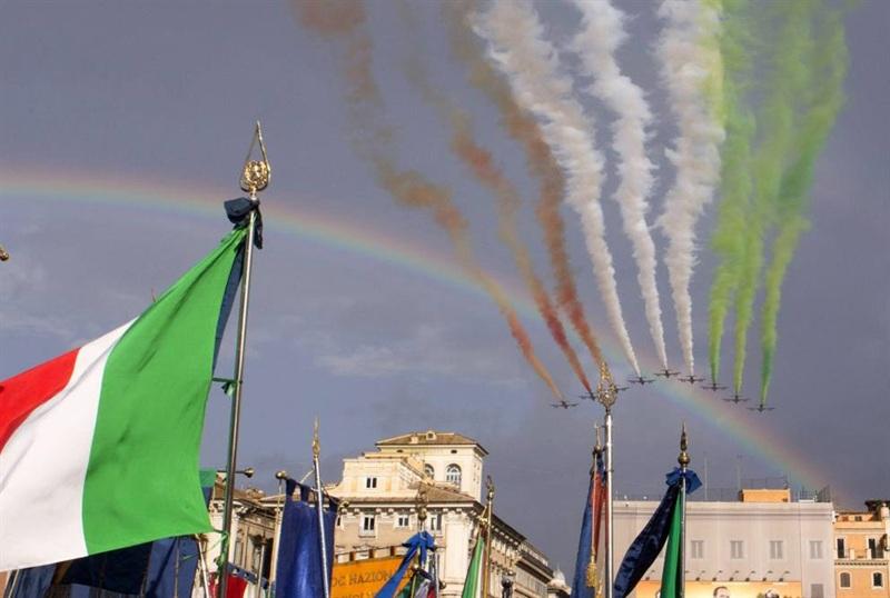 frecce.tricolori.arcobaleno