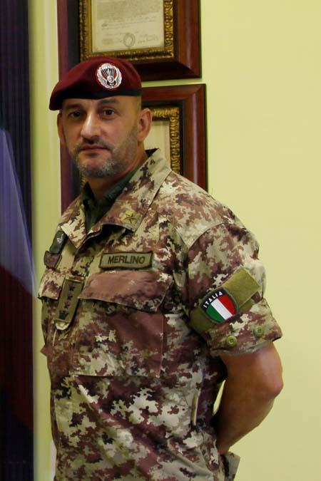 Col. Merlino (comandante subentrante)