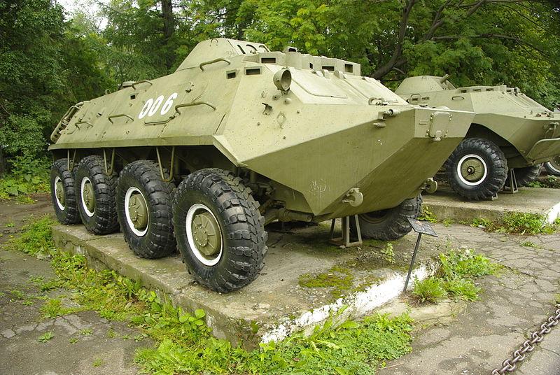 Old_BTR60_in_Yuzhno_Sakhalinsk
