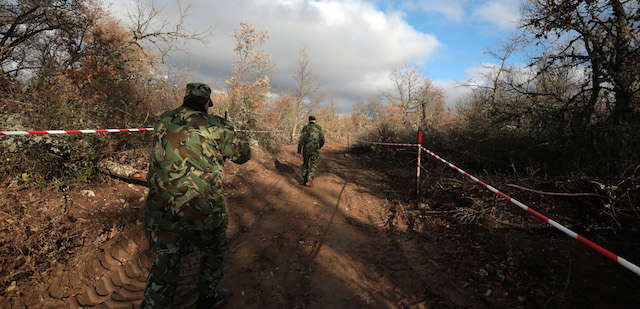 Bulgaria Refugees Border
