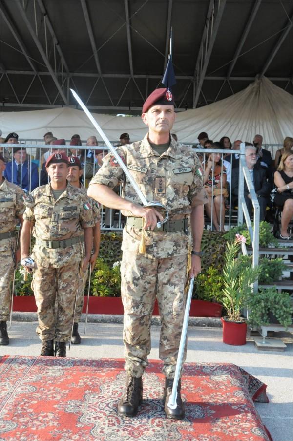 4. il 102° Comandante, Col. Aurelio Tassi