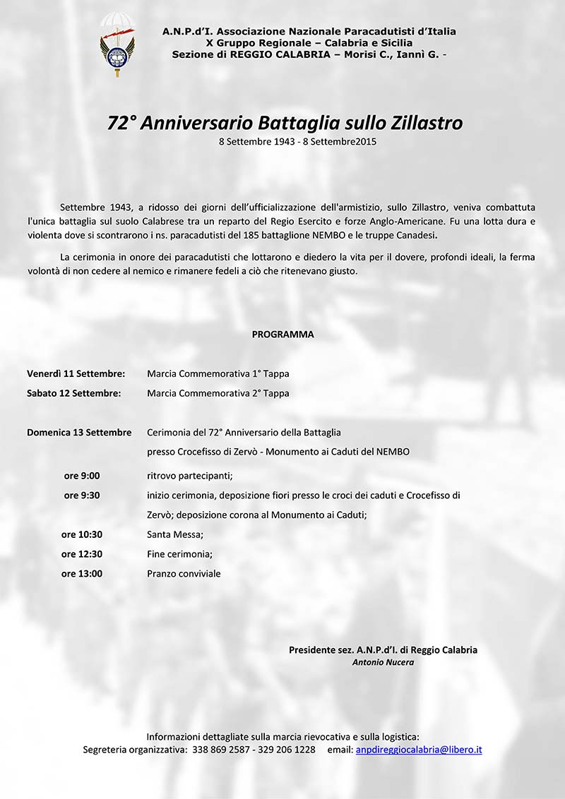 Manifestazione Zillastro 2015