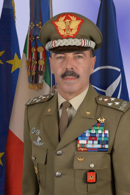 IL GENERALE DI CORPO D'ARMATA SALVATORE FARINA E' DA OGGI ...