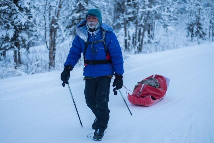 Roberto Zanda abbandona la Yukon Artic Ultra (foto di Bianca Gregu)